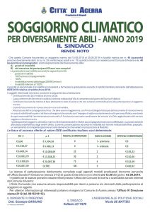 SOGGIORNO MARINO PER DIVERSAMENTE ABILI E RELATIVI ...