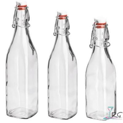 Acqua in bottiglia di vetro prezzi